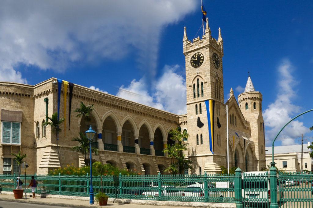 Parlamentsgebäude auf Barbados