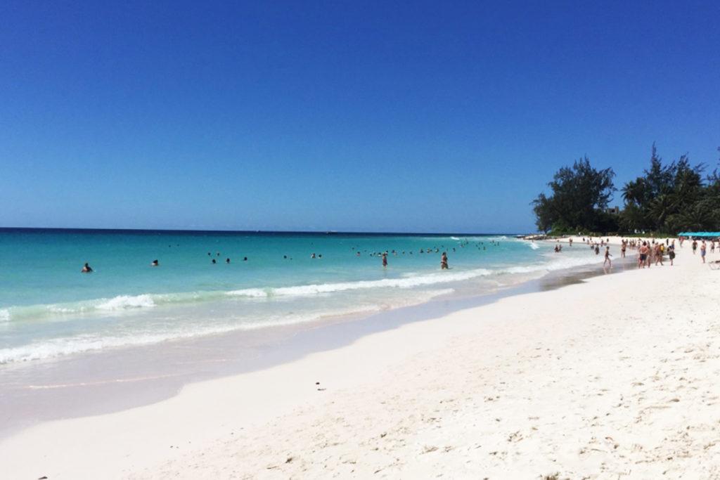 Accra Beach auf Barbados
