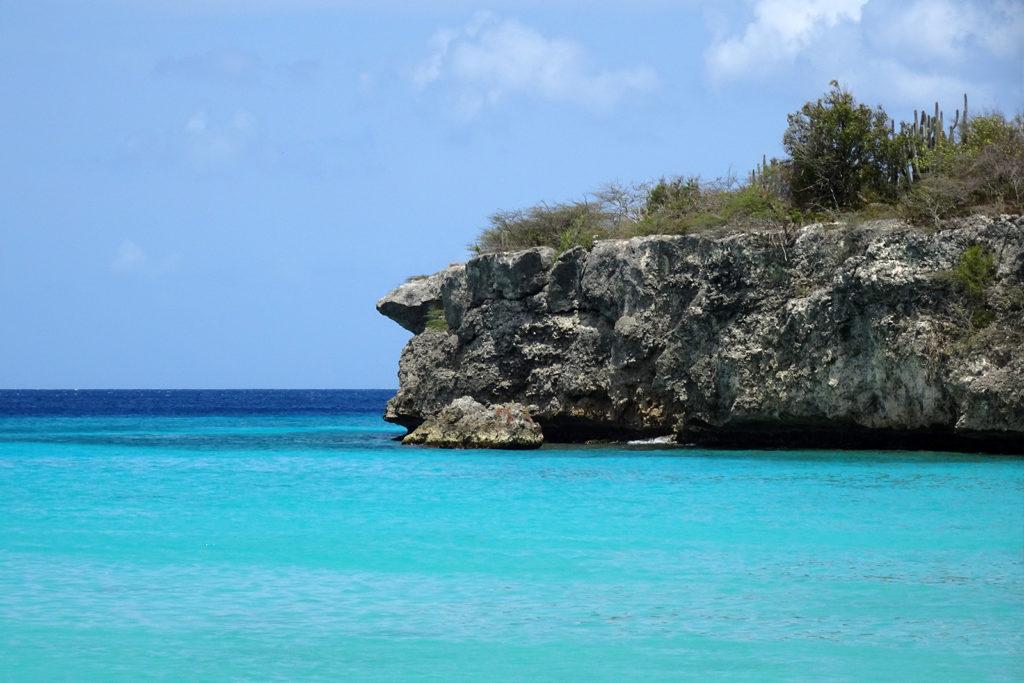 Daaibooi Beach auf Curacao Karibik