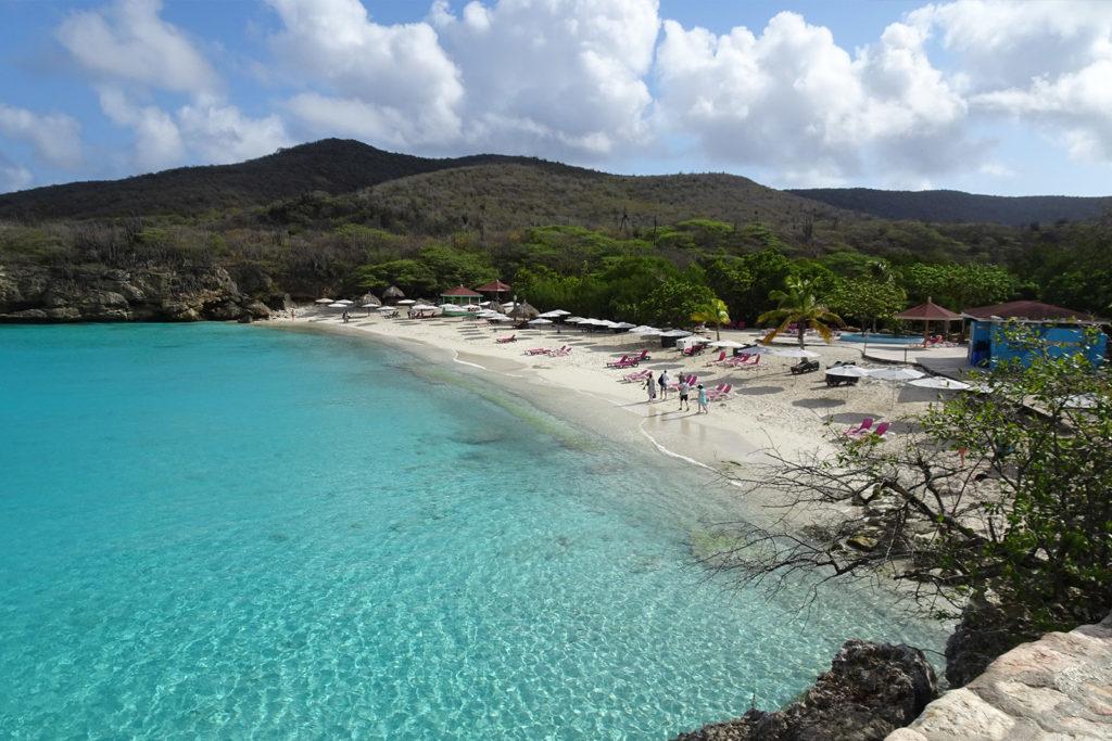 Curacao Knip Beach Karibik