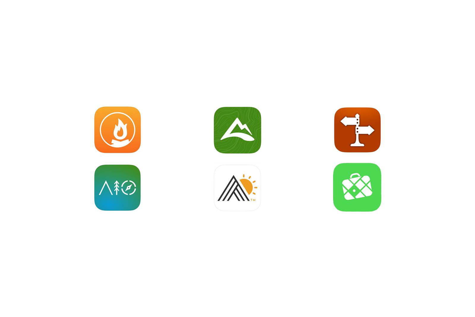 Die besten Apps für Camper-Abenteuer in den USA