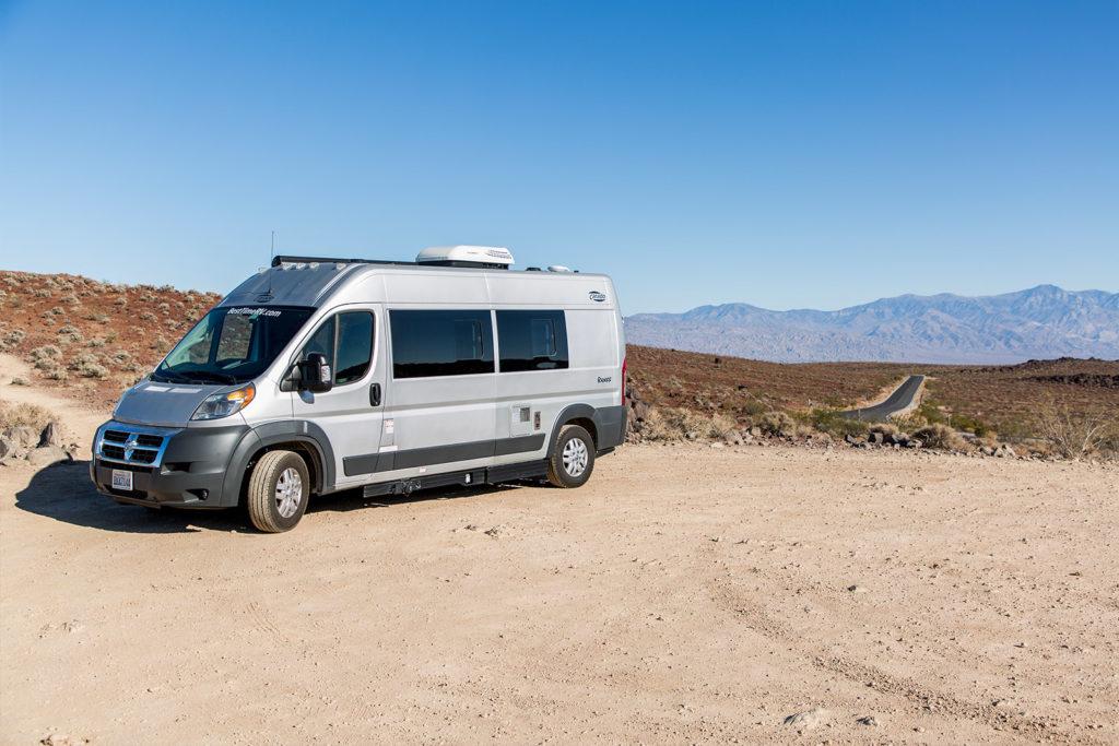 Unser Kastenwagen im Death Valley Kalifornien USA: Vorteile