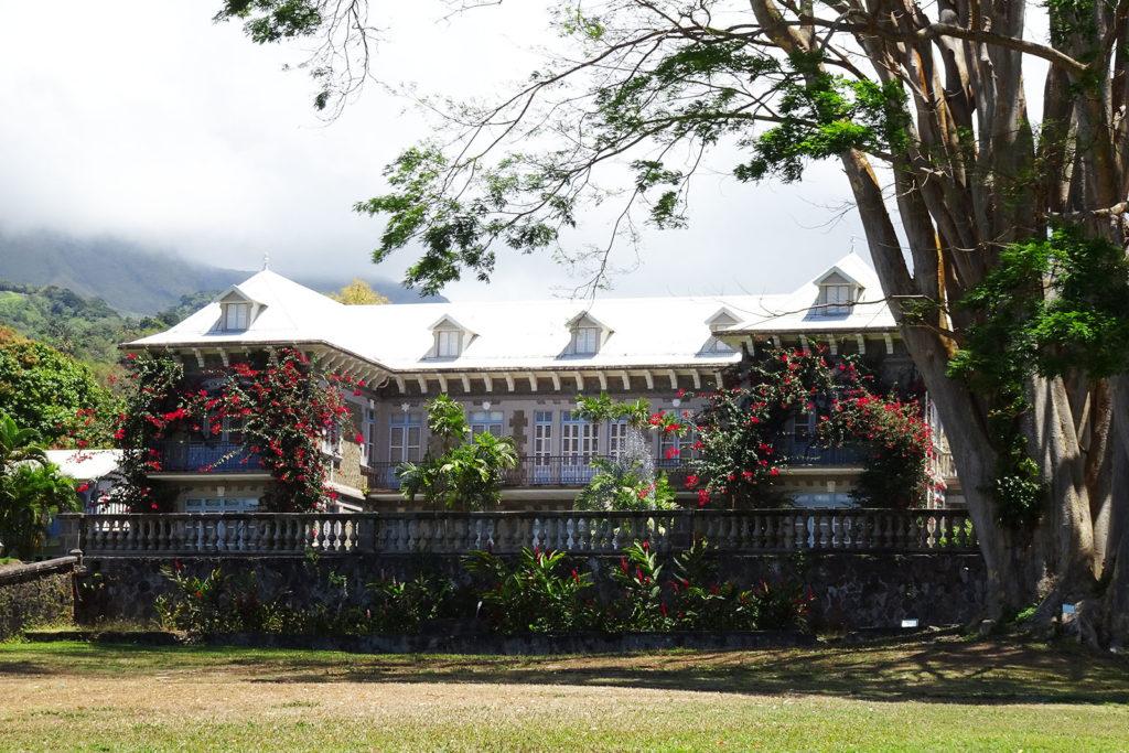 Herrenhaus auf dem Gelände der Depaz Rumdestillerie