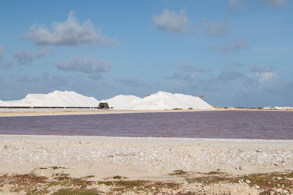 Salinen auf Bonaire in der Karibik