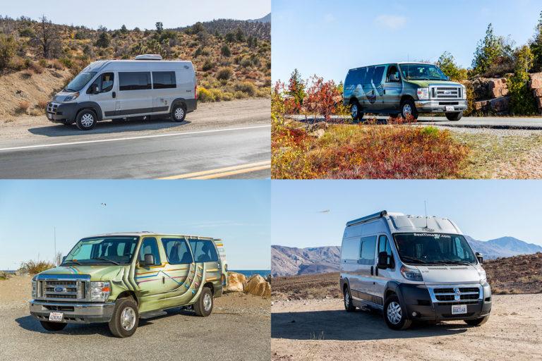 Unser Vergleich Kastenwagen und klassischer Campervan