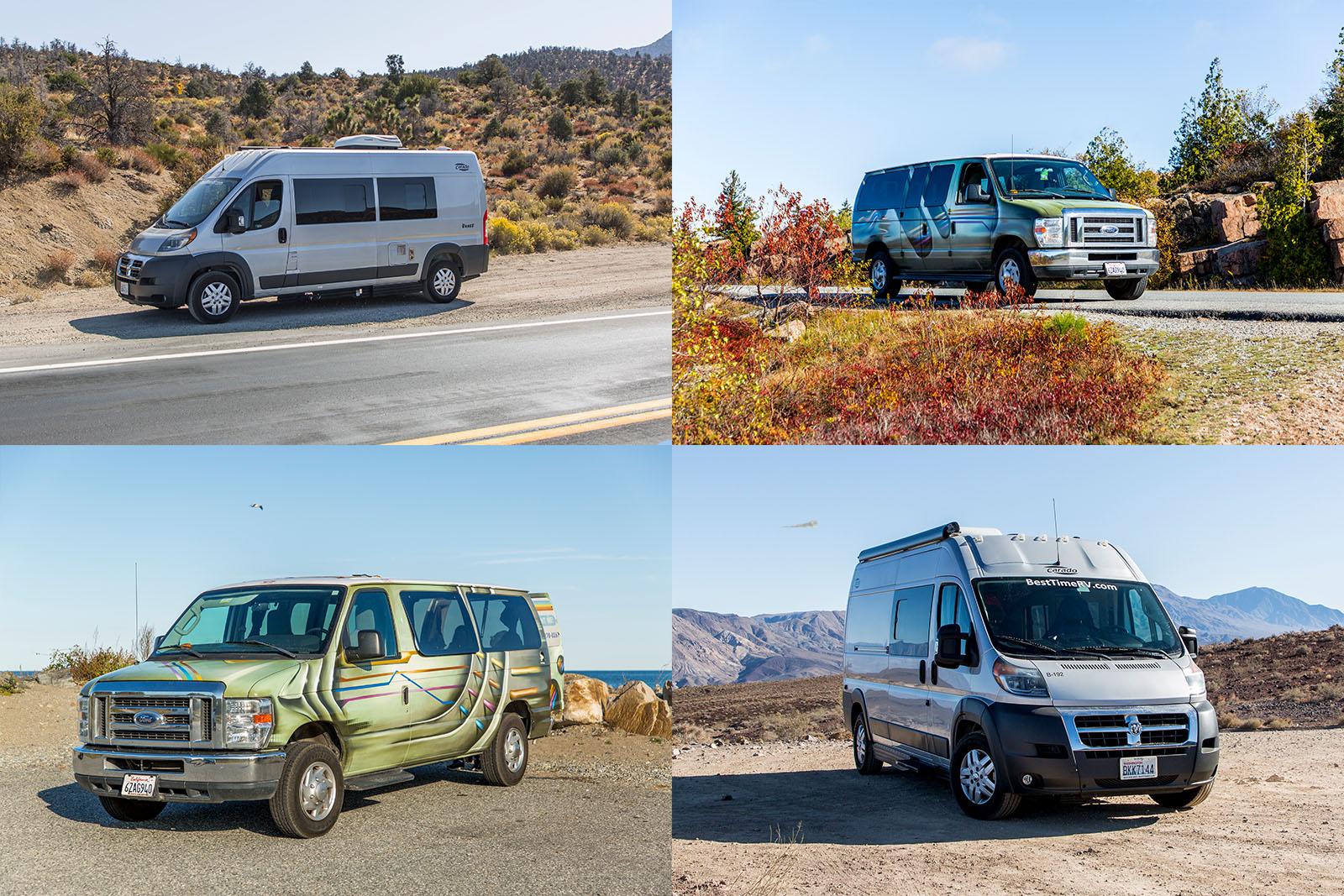 Unser Vergleich: Kastenwagen Campervan und klassischer Campervan