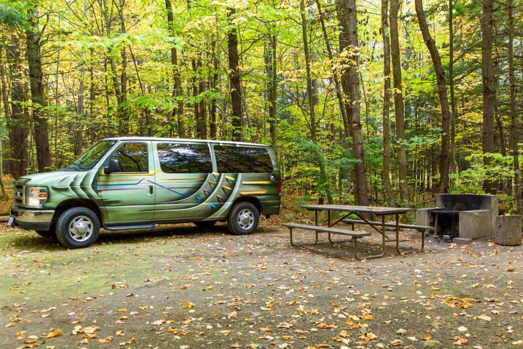 Der Vergleich klassischer Campervan und Kastenwagen Campervan