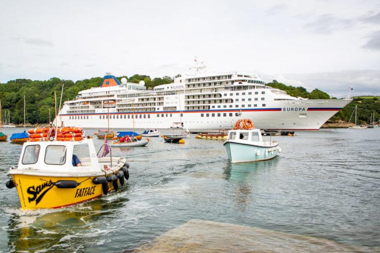 Welche Jobs auf Kreuzfahrtschiff: MS Europa in Fowey
