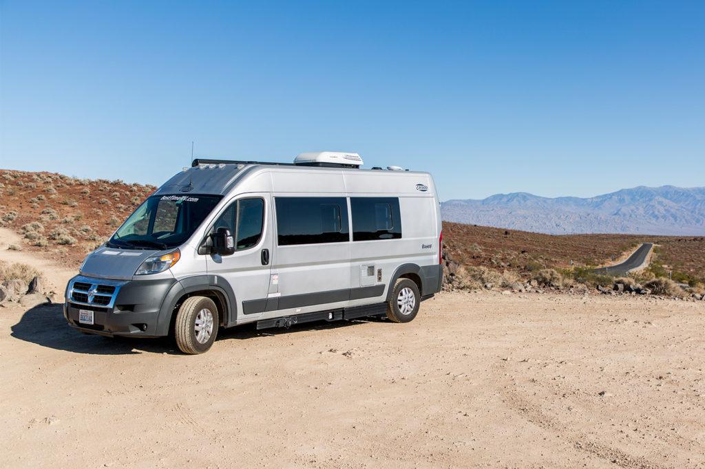 Vanlife USA: Camper im Death Valley