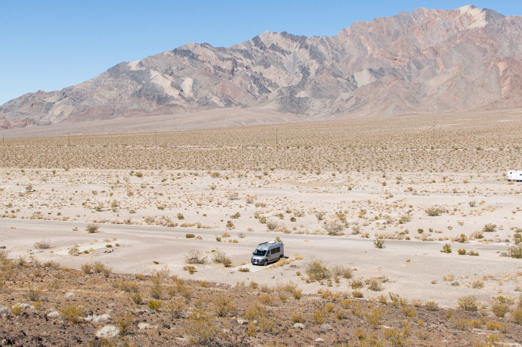 Vanlife USA: Übernachten im Death Valley