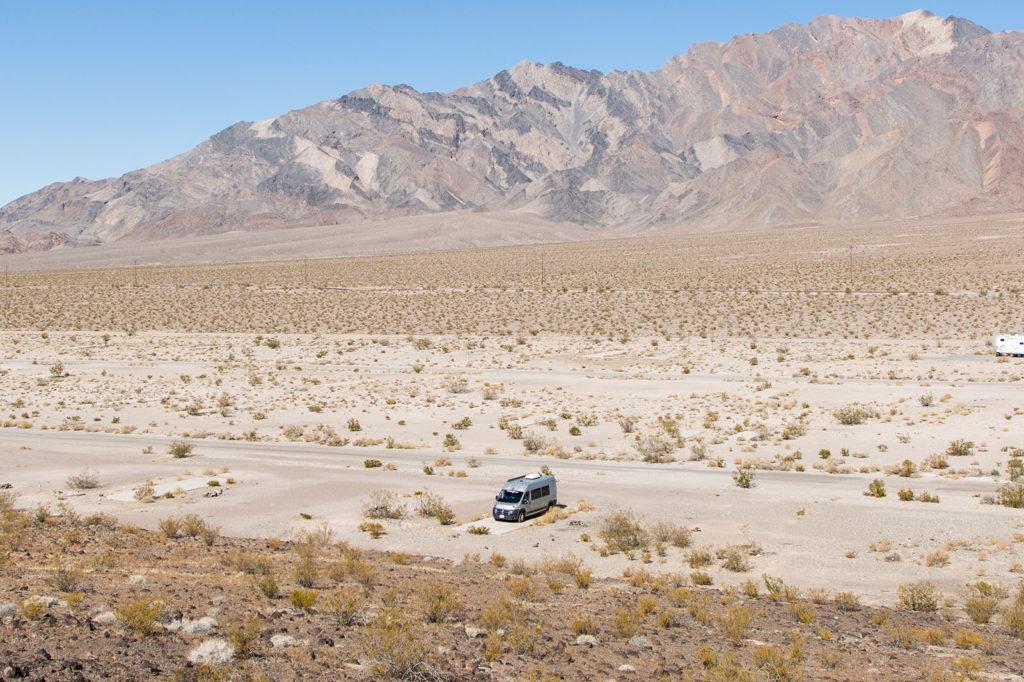 Vanlife USA: Übernachten im Death Valley