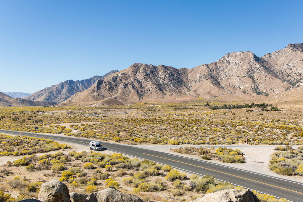 Vanlife USA: Inmitten des Death Valleys