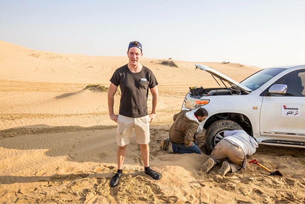 Fotograf Mein Schiff TUI Cruises Erfahrungsbericht Wüste Jeep-Tour in Dubai