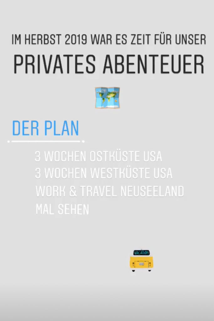 Privates Abenteuer Herbst 2019