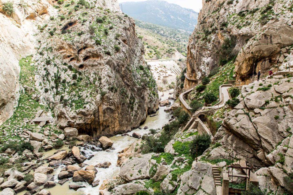 Königspfad, Spanien