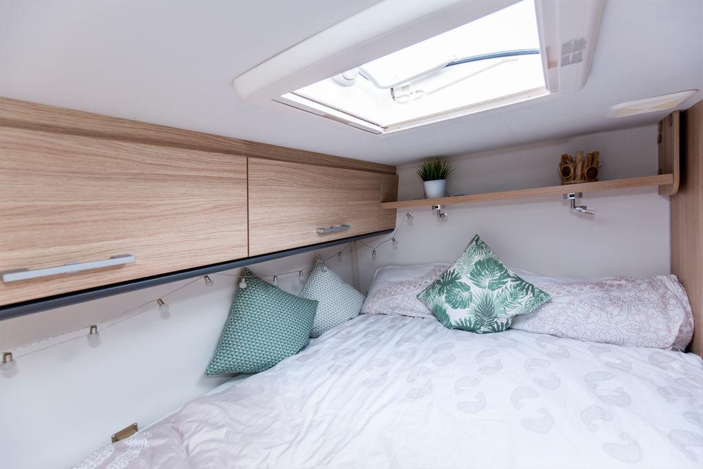 Unser Schlafzimmer im Sunlight V60