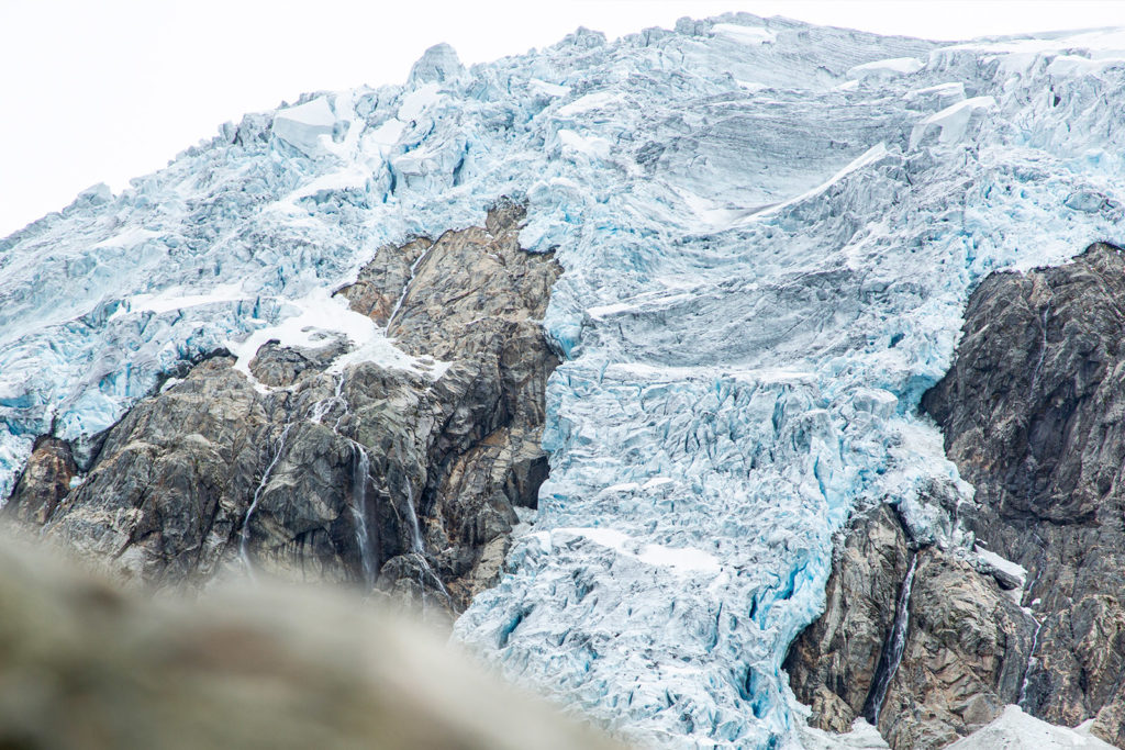 Der Buerbreen Gletscher