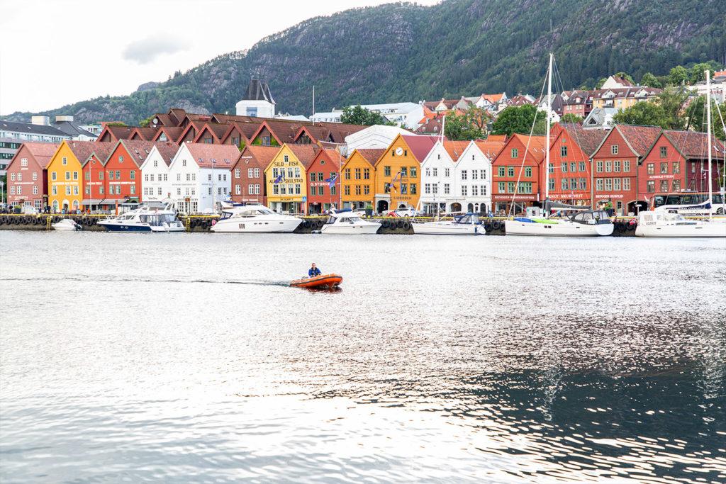 Die berühmten Bryyge in Bergen